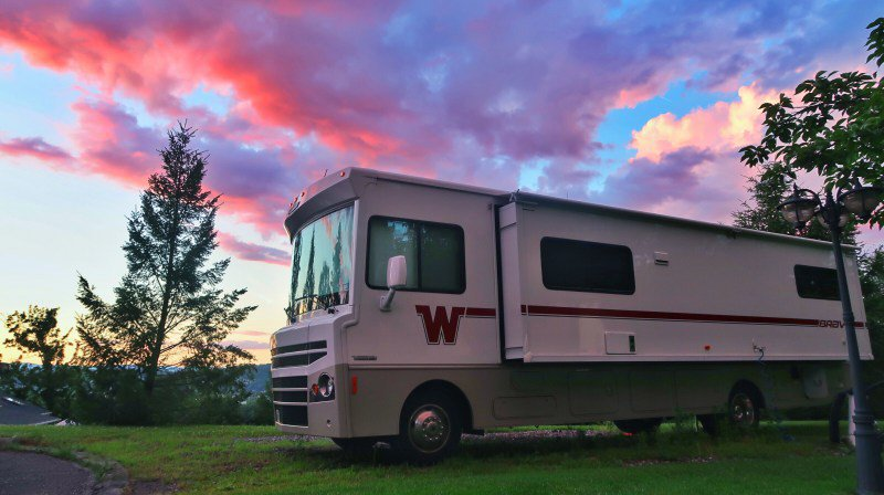 how much space do you need for a tankless water heater in your RV?