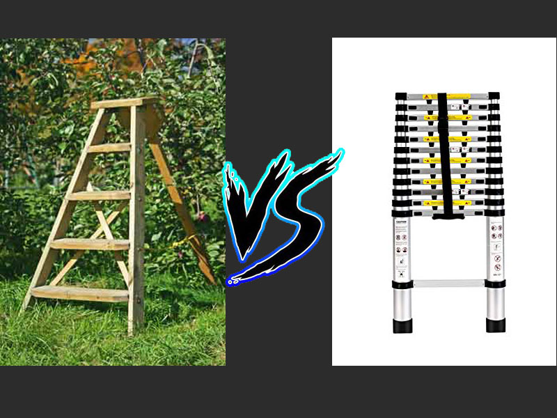 Ladder vs Collapsible